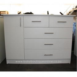 Large Compactum With Split Drawers