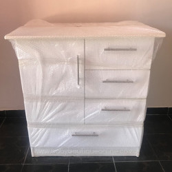 Standard Compactum - Large Bottom Drawer White
