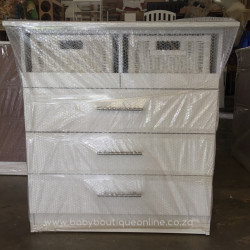 Standard Compactum With Split Baskets White