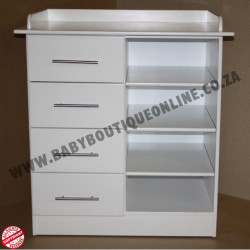 Standard MDF Compactum 4 Opening 4 Drawer