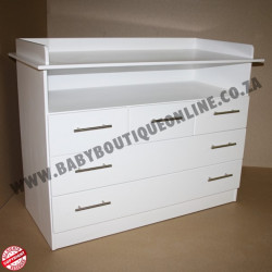 Large MDF Compactum 5 Drawer
