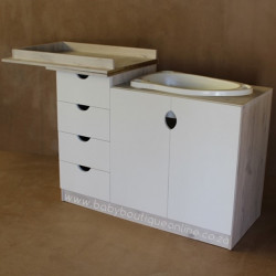 Bath Compactum White & Nordic Ice