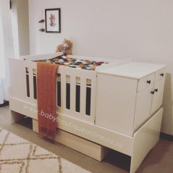5-in-1 Cot Superwood White