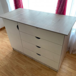 Large Compactum - White & Nordic Ice