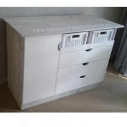 Large Compactum Split Baskets White & Nordic