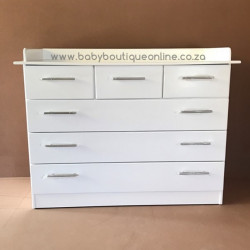Large MDF Compactum 6 Drawer