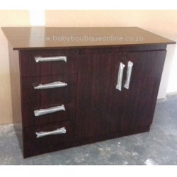 Large 2 Door Compactum Burgundy