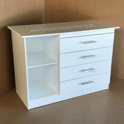 Large 4 Drawer 2 Openings Compactum Superwood MDF