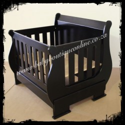 Sleigh Cot - Converts into 3/4 Bed