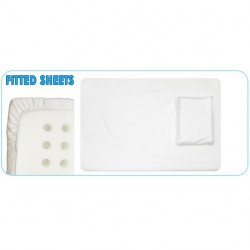 Fitted Sheet - 3/4 Cot
