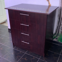 Chest of Drawers Burgundy